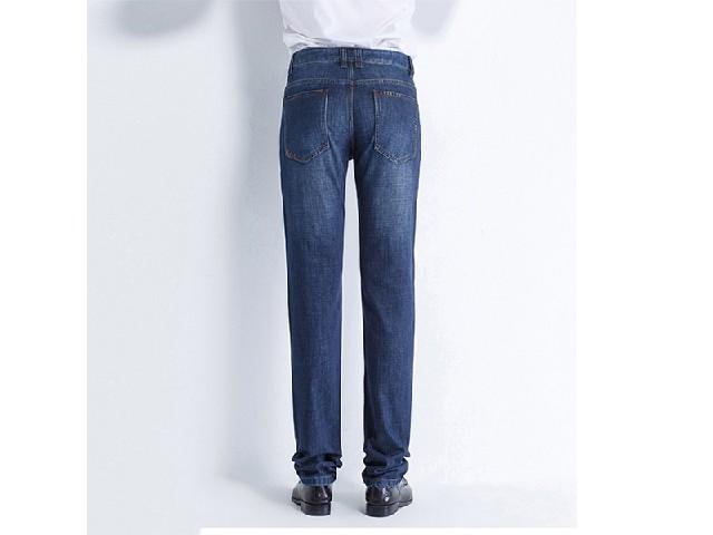 信阳公道的百圆裤业男商务休闲牛仔裤批发出售 修身牛仔裤男款