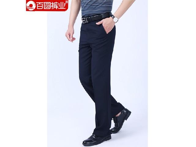 供应男西裤 信阳热卖百圆裤业男商务休闲西裤