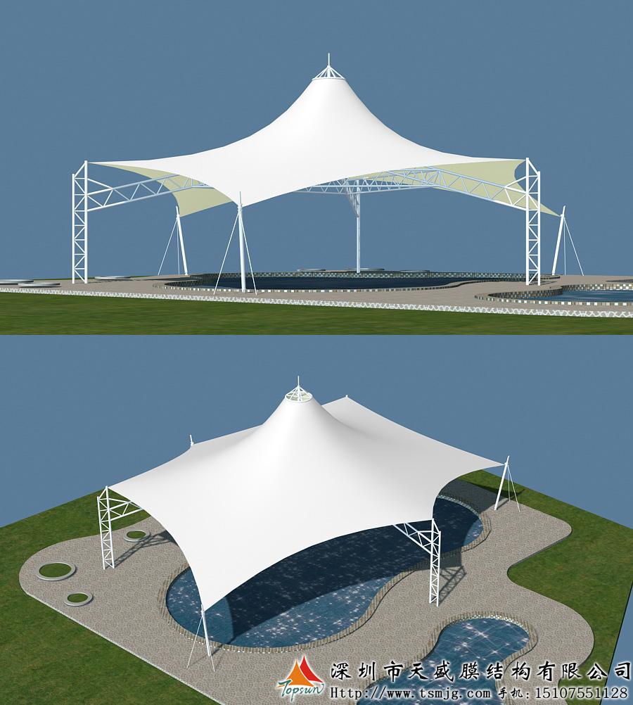 求购衡阳张拉膜结构设计安装及膜材供应