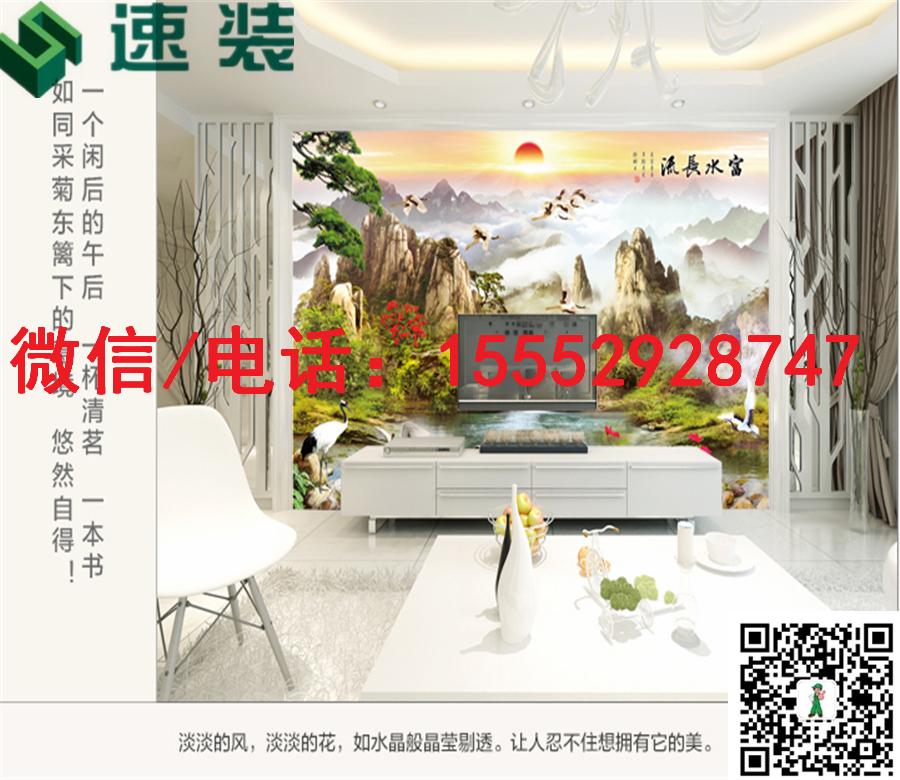 福建三明速装3D/5D/6D卧室简装修背景墙