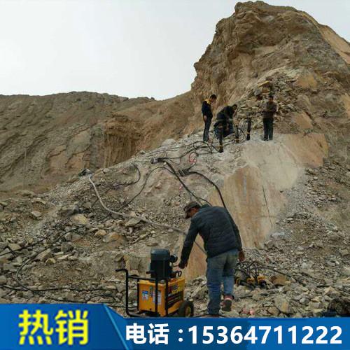 云南曲靖岩石混凝土液压分裂机15364711222