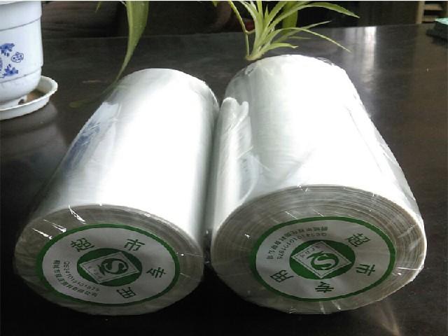 超市购物袋-玲鼎塑料厂供应特价连卷袋