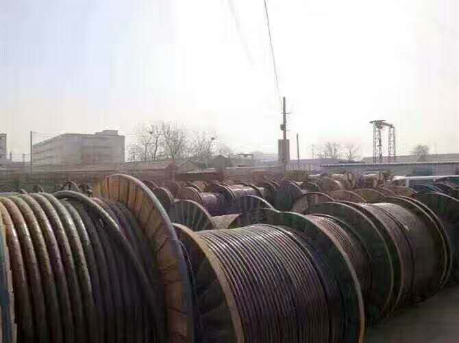 甘州区厂家回收成轴废电缆现金回收