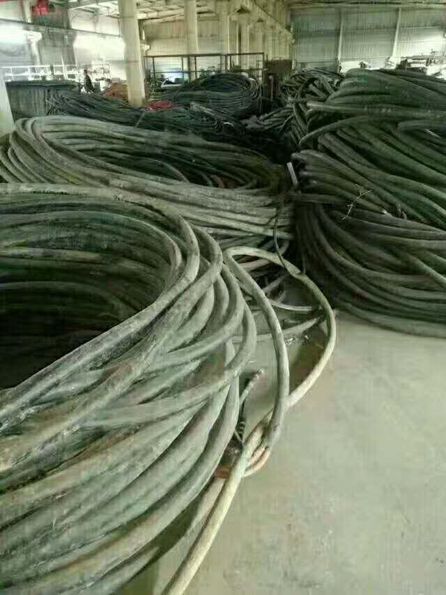 南阳卧龙专业电缆回收多少钱一米一吨高价回收