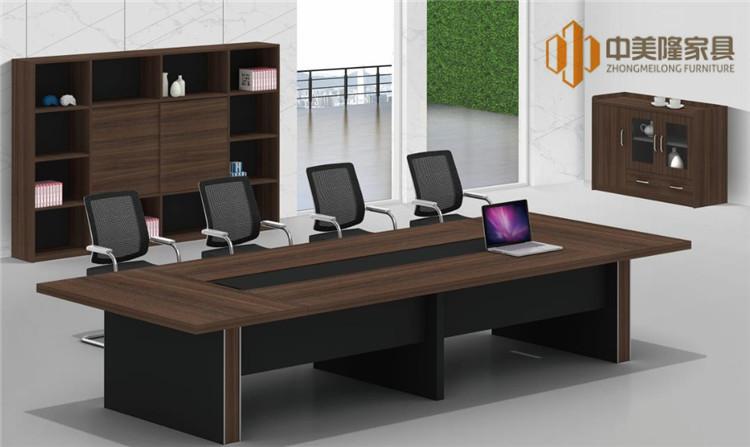 中美隆品牌会议桌订制批发钢架会议桌