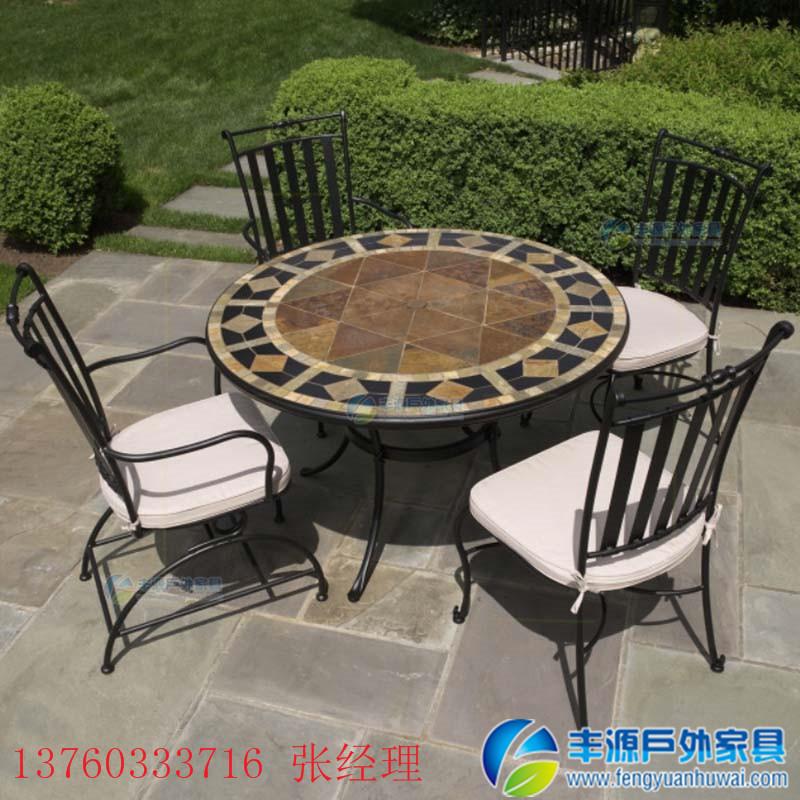 海口户外铝制桌椅定制
