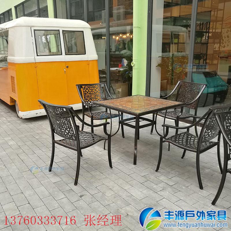 鹰潭市室外铸铝桌椅采购