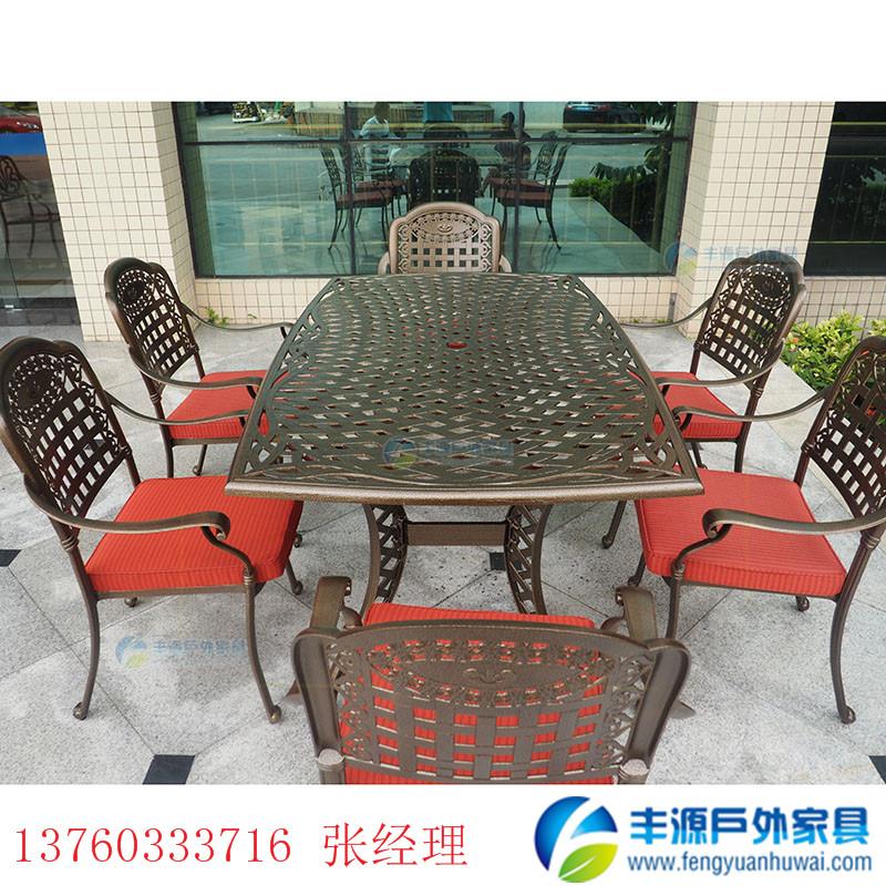 萍乡市户外铸铝桌椅采购