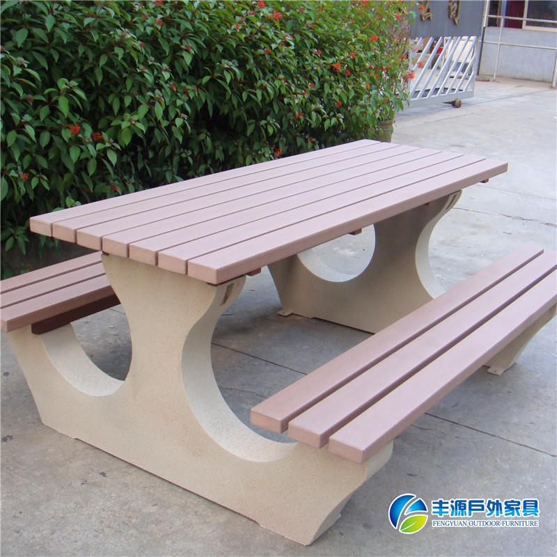 宁德市户外塑木桌椅批发