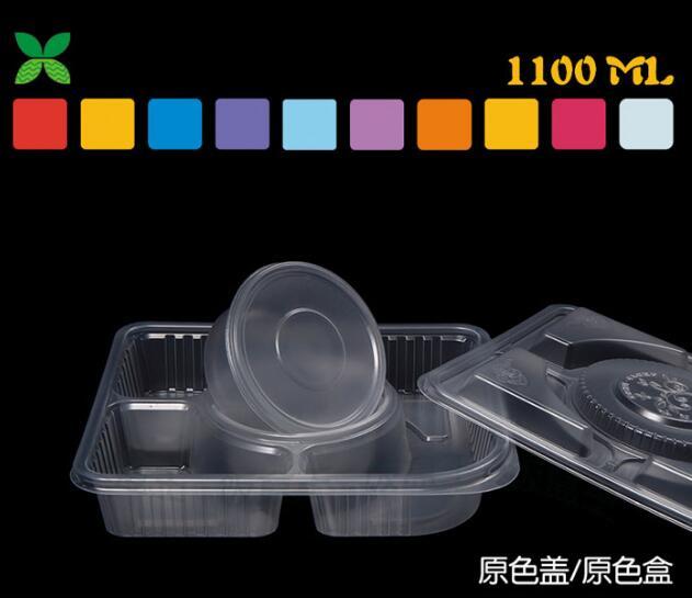 一次快餐盒 打包盒 快餐盒 长方形塑料饭盒王