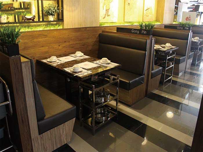银川质量一流的火锅桌椅、就在宁夏昊美家具、价位合理的火锅桌椅
