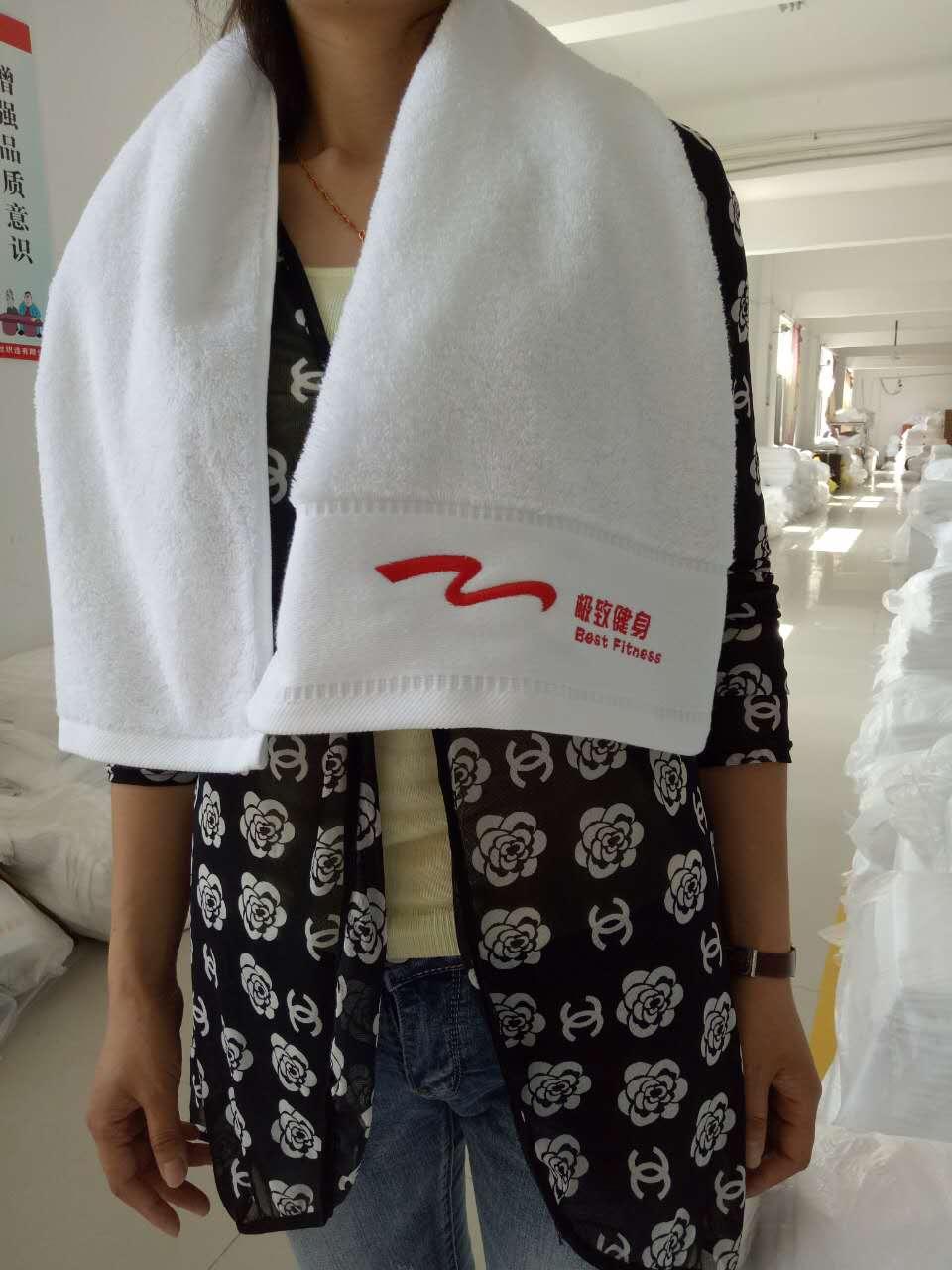 梦妃丝厂家直销批发供应全棉高尔夫健身运动毛巾