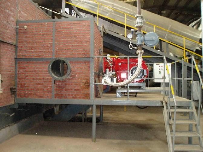临沂燃气热风炉厂家、燃烧机安装