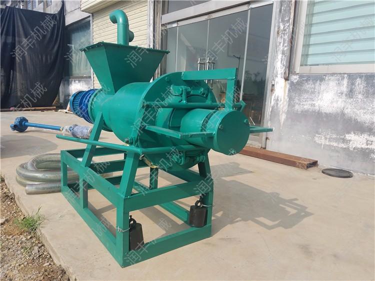 简阳鸡粪处理干湿分离机价格简阳养殖污水处理机器