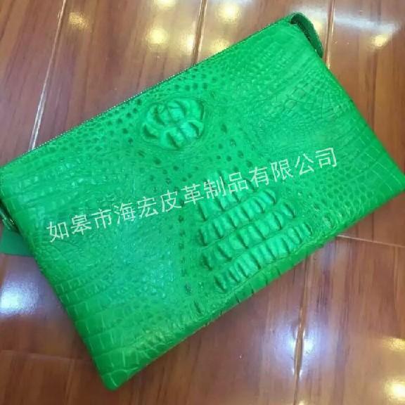 如皋市海宏皮革制品为您提供优惠的鳄鱼皮皮包 北京鳄鱼皮皮包