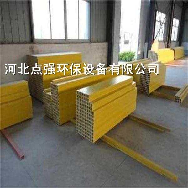 玻璃钢拉挤方管警示桩-上海玻璃钢方管厂家直销