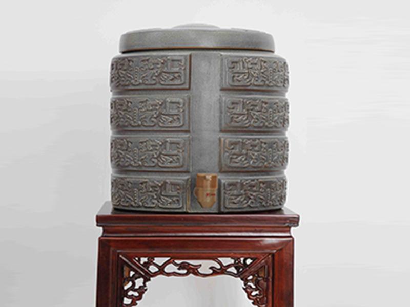 成都专业的净水缸规格竹炭陶