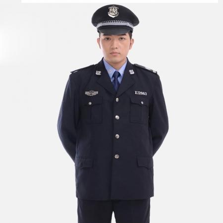 保安作训服春秋套装男安保物业长袖保安制服秋冬装保安工作服全套