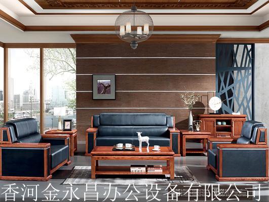 纯实木办公家具、实木办公桌、大班台定制