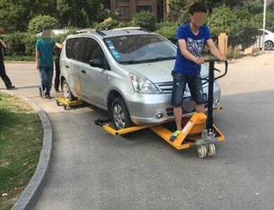 手动移车器质量好 手动液压移车器南宁总代理商