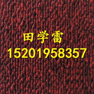 TB50系列丙纶素色高性价比办公室用PVC底方块地毯
