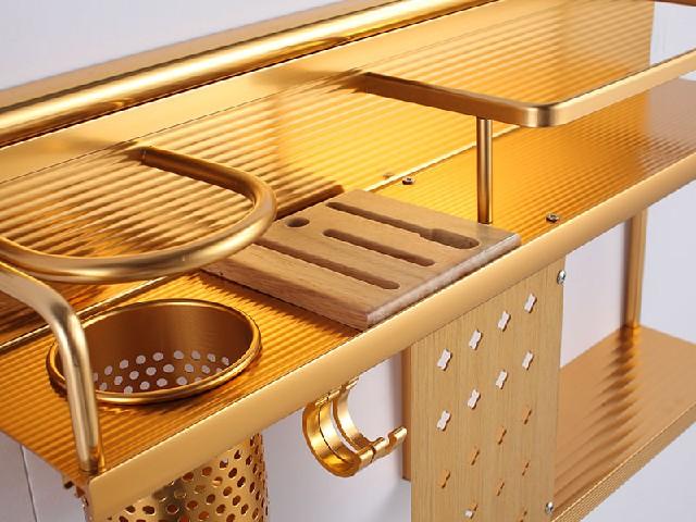 到哪儿能买到品质好的太空铝双层刀架厨房刀架摆放架
