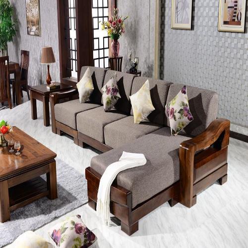 高档沙发厂家实木沙发北美黑胡桃木沙发品牌