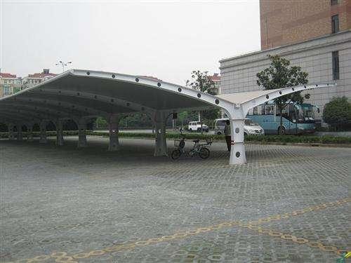 宽甸上海如筱膜结构停车棚活动棚推拉篷充电桩蓬0