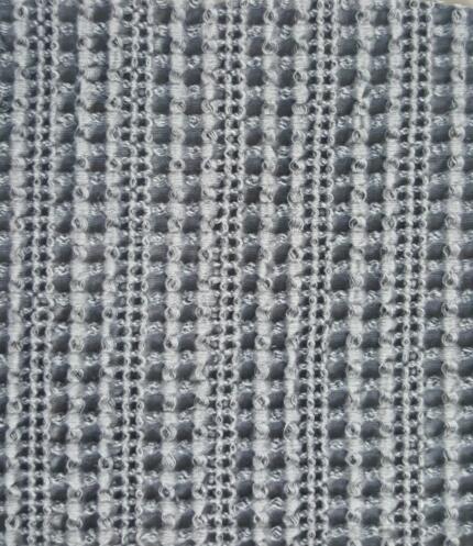 砂洗华夫格毯