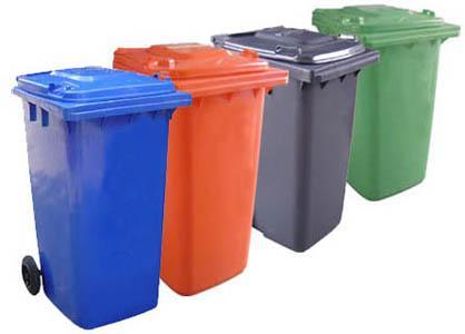 张家口市带轮带盖垃圾桶生产厂家直销