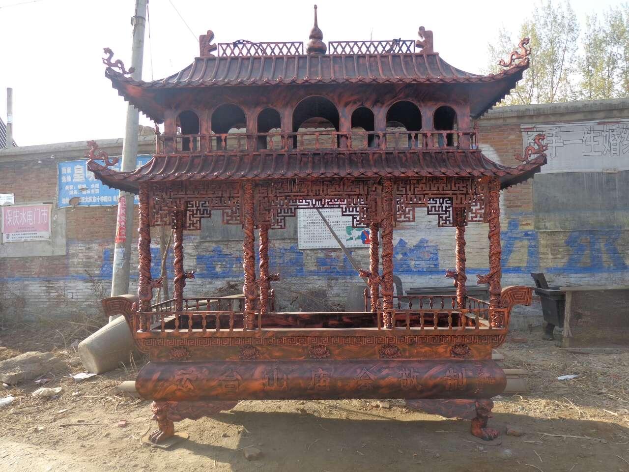 铸铜厂直供铜香炉定做大型香炉寺庙香炉价格