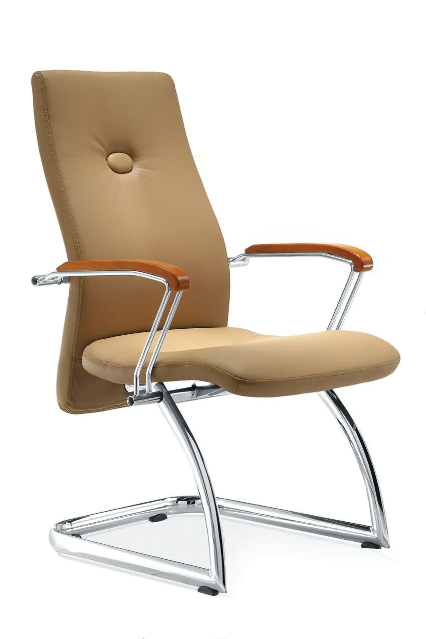 办公会议椅培训职员椅西皮椅子带扶手办公椅洽谈椅会议椅