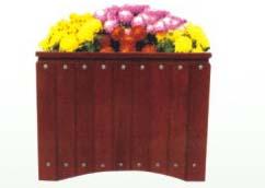 本溪户外木质花箱厂家直接供货