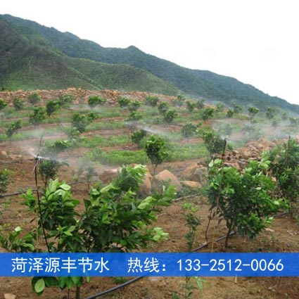 朔州山上果园喷灌工程布置图