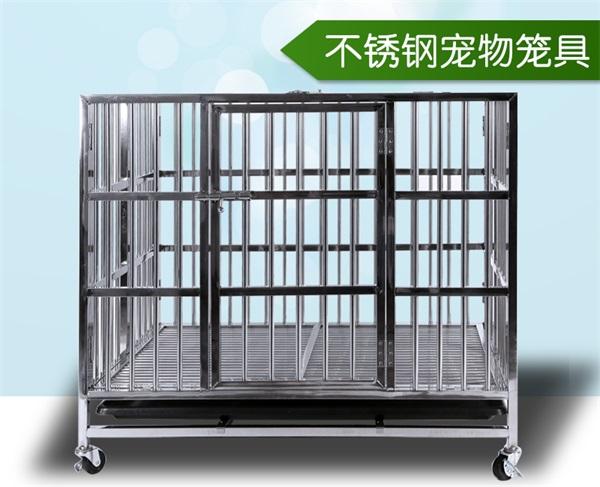 不锈钢笼具定制不锈钢狗笼子生产厂家