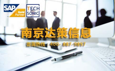 江苏SAP代理商 江苏SAP咨询公司 就找南京达策SAP合作伙伴