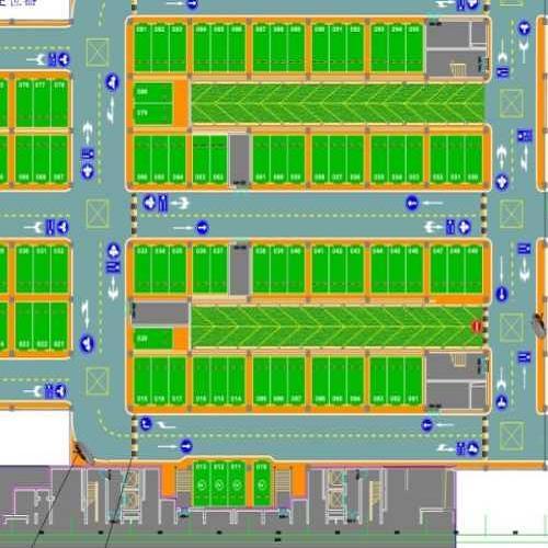 地下停车场设计/重庆专业停车场设计公司/停车场设计