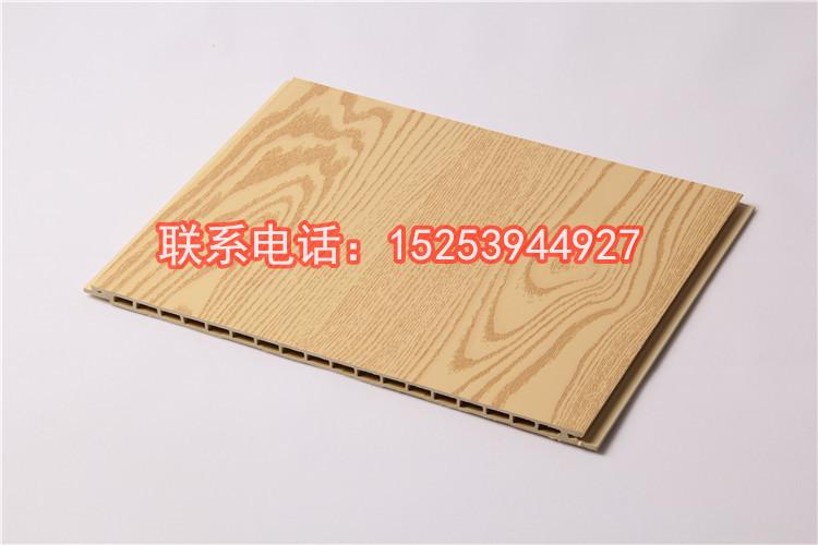七台河竹木纤维集成墙面欧式装修效果