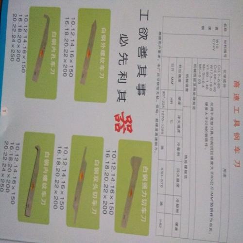 机床刀具销售-切削刀具生产商