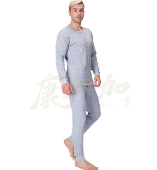 石墨烯套服手感柔软细腻 男士保暖内衣套装 招加盟代理商