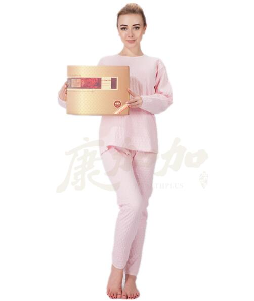 养生服饰 康加加石墨烯套服 保暖套装 厂家招商 免费加盟 一件代发