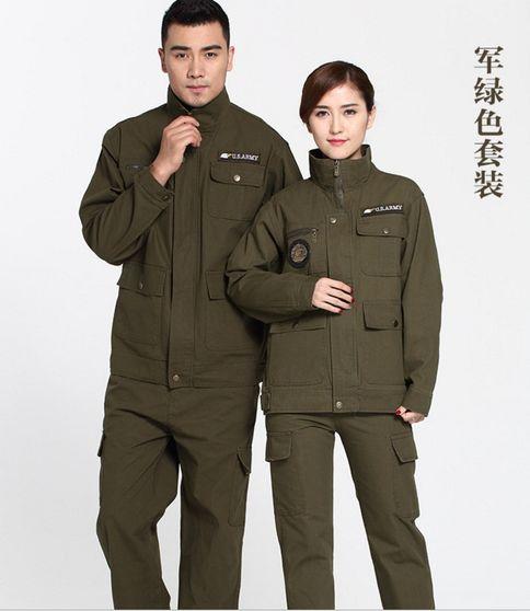 秋冬季带反光条保暖耐磨工作服、天津厂家直销、量大从优