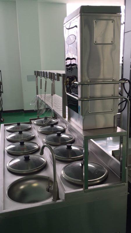 煮饺炉、煮面炉、馄饨炉、山东迈德商用厨具有限公司制造