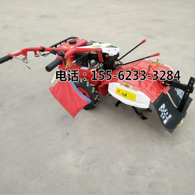 柴油多功能除草松土机  小型微耕机