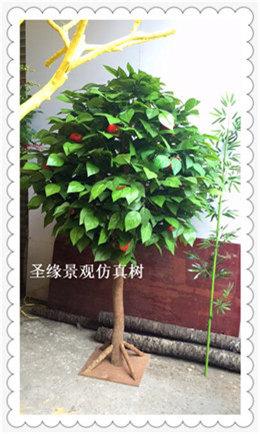 仿真苹果树 超市仿真苹果树现货热销仿真植物 花卉 树 动物
