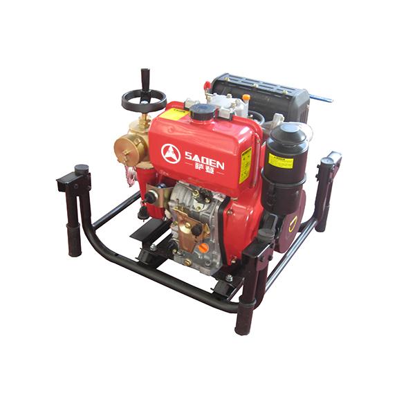 萨登 2.5寸柴油消防水泵 大扬程柴油水泵厂家直销