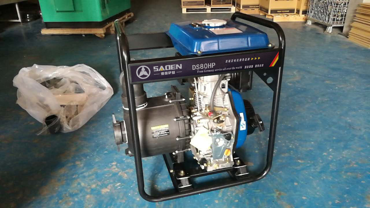 萨登 3寸柴油化工泵 柴油泥浆泵 柴油污水泵厂家直销