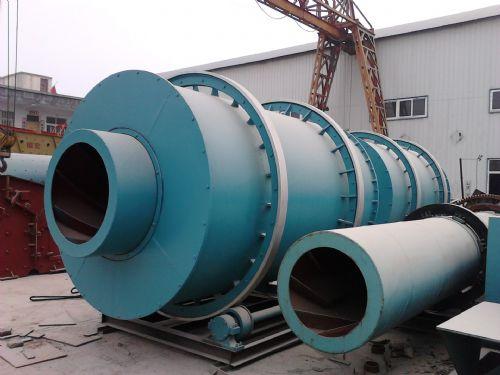 三门峡煤泥烘干机结构