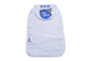 中大号吸汗巾儿童隔汗巾纯棉纱布垫背巾工厂订做可做幼儿园标logo