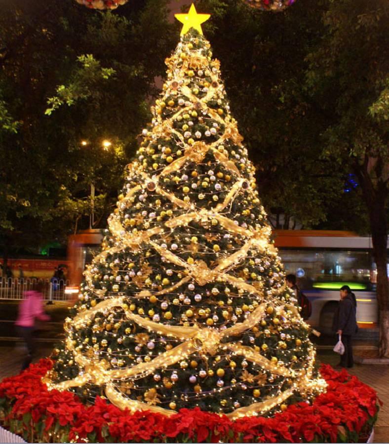 专业定制大型圣诞树商场酒店圣诞布置